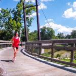 Paula Smith running in the summer