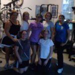 Paula Smith and group training class